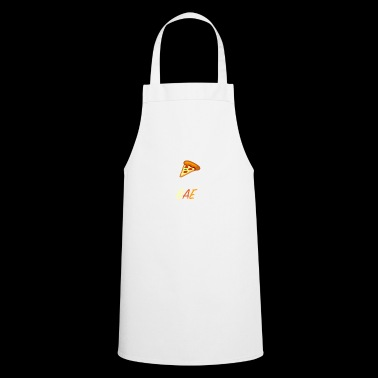Bae and pizza - Cooking Apron