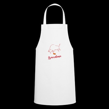 Barcelona spain Spain bull freedom demo anti - Cooking Apron