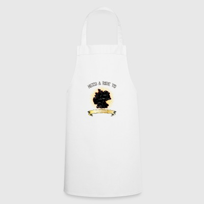 Need A Ride To Germany ➢ Travel hitchhiker - Cooking Apron