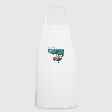 Funny rock climbing motive Really good motivation - Cooking Apron