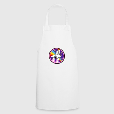 Colorful rocket - Cooking Apron