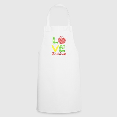 Love first grade - Cooking Apron