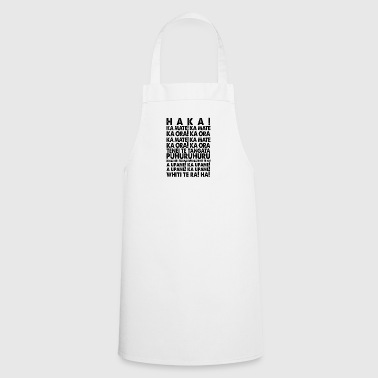 HAKA MAORI RUGBY SHIRT NEW ZEALAND! - Cooking Apron