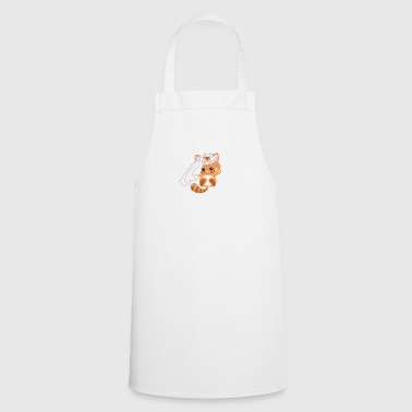 I Marry - Sweet Cat - Engagement Wedding! - Cooking Apron