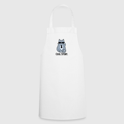 COOL STORY CAT - Cooking Apron