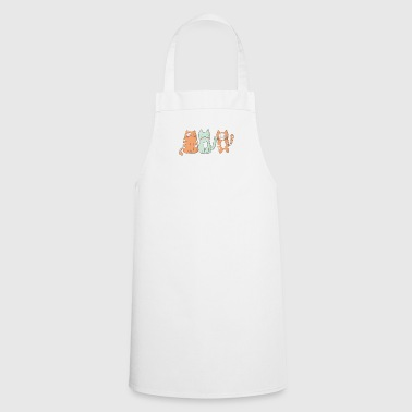 Cats normal Miau fur paw gift Crazy - Cooking Apron