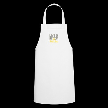 Life is better with bees! Beekeeper! - Cooking Apron