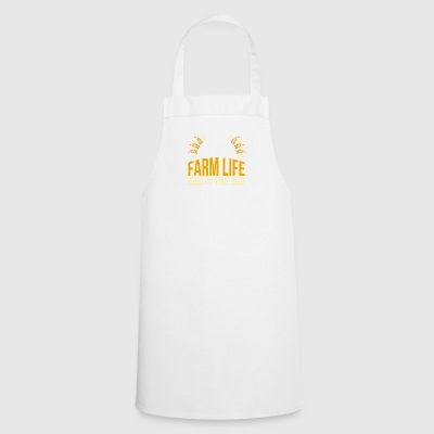 farmer - farm life is the good life - Cooking Apron