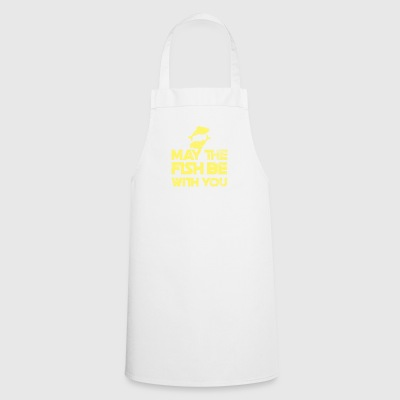 Fishing / Anglers / Fishing: May The Fish Be With - Cooking Apron