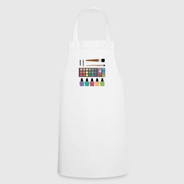 Make-up set - Cooking Apron
