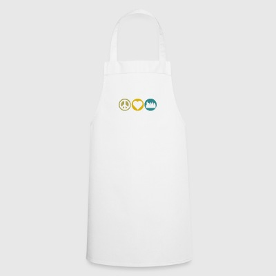 Peace love urban planning - Cooking Apron