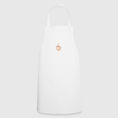 middle finger - Cooking Apron