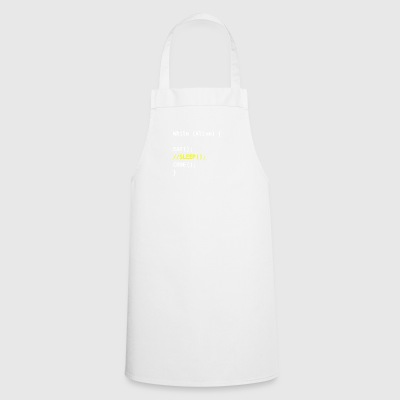 while alive - code - Cooking Apron