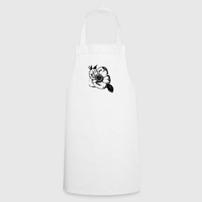 Flower illustration - Cooking Apron
