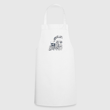 Woman with drink - Cooking Apron