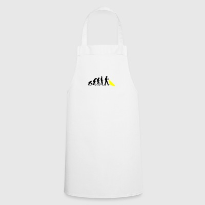 Evolution of mankind. Here's the police. - Cooking Apron