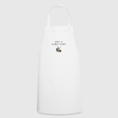 January is like the monday of the months - Cooking Apron