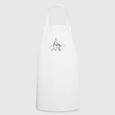 Naughty Monkey Skeletons - Cooking Apron