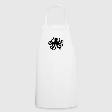 Octopus silhouette - Cooking Apron