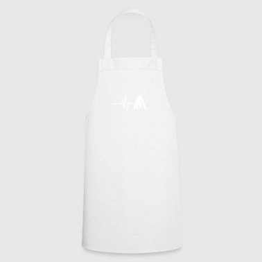 My heart beats for Running - Sprint Jogging Fit - Cooking Apron