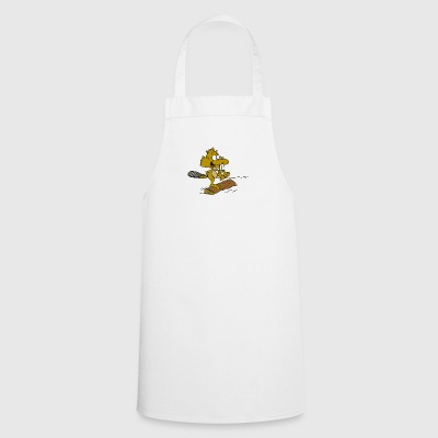 beaver biber rodent rodents wood water38 - Cooking Apron