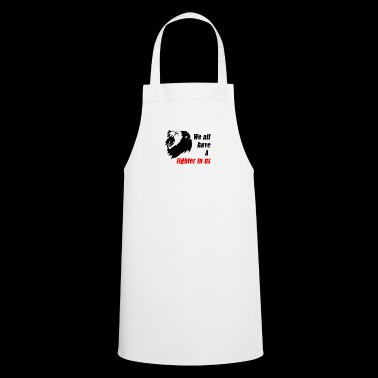 Fighter in US - Cooking Apron