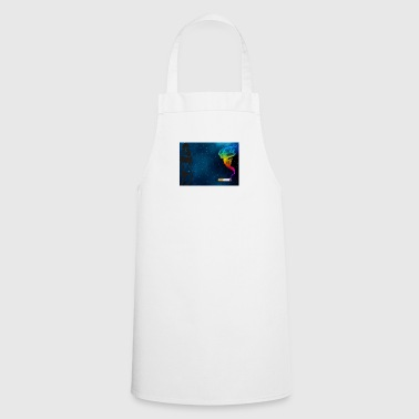 girl galaxy - Cooking Apron