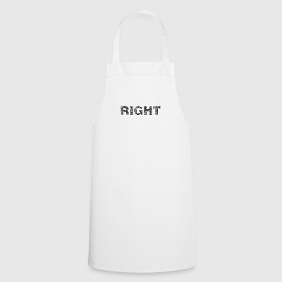 Right lettering - Cooking Apron