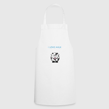 I LOVE MILK BOY - Cooking Apron