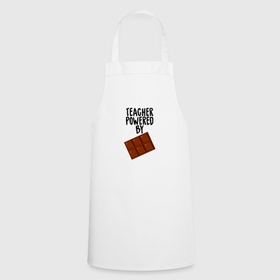 Teacher / School: Teacher Powered By Chocolate - Cooking Apron