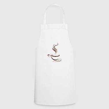 Hot coffee - Cooking Apron
