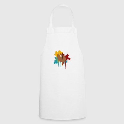 painter's palette - Cooking Apron