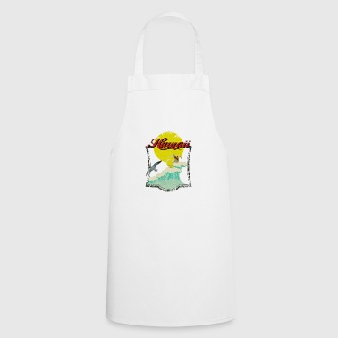 Surfer Vintage Hawaii - Delantal de cocina