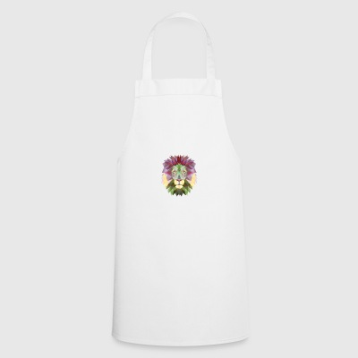 Lion mandala lion yoga meditation king jungle - Cooking Apron