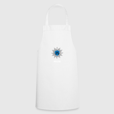 Coat of arms police joke cop - Cooking Apron