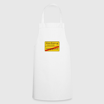 Old iron birthday 55 years - Cooking Apron