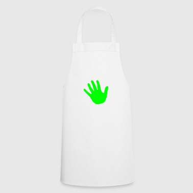 hand green - Cooking Apron