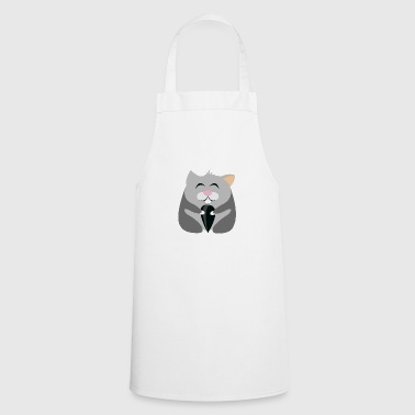 Happy hamster with heart - Cooking Apron