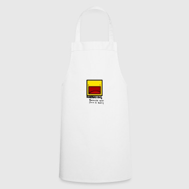 Screaming face - Cooking Apron