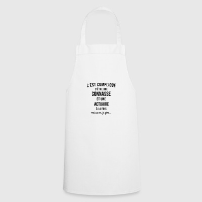 Connasse and Actuary - Cooking Apron