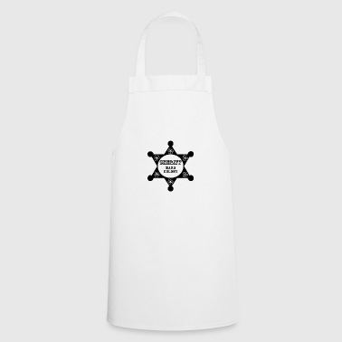 Sheriff blak - Cooking Apron