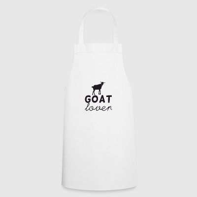 Goat / farm: Goat Lover - Cooking Apron