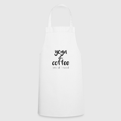 Yoga & coffee - Cooking Apron