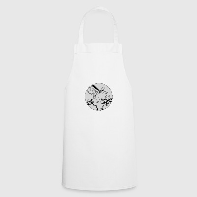 Head of giraffe gray - Cooking Apron