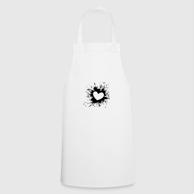 Heart Splash - Cooking Apron