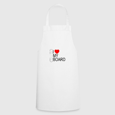 I heart my board - Cooking Apron