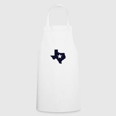 TEXAS State Outline Star - Cooking Apron