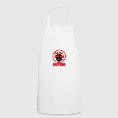 Morons prohibited - Cooking Apron