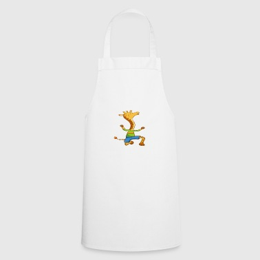 Funny animal design giraffe - Cooking Apron