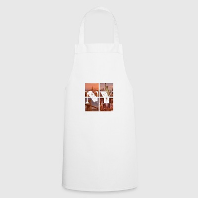 NEW YORK RED - Cooking Apron